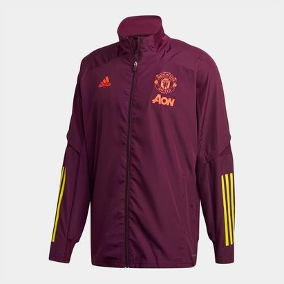 adidas Manchester United European Jacket 20/21 Mens
