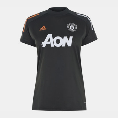 adidas Manchester United Training Shirt 20/21 Ladies