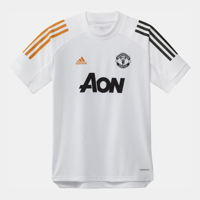 adidas Manchester United Training Shirt 20/21 Kids