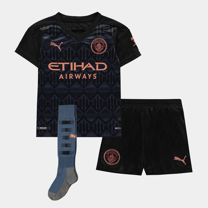Puma Manchester City Away Mini Kit 20/21