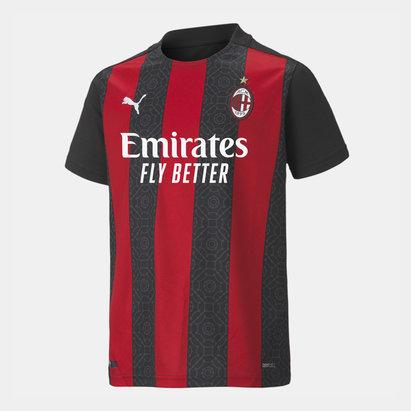 Puma AC Milan Home Shirt 20/21 Kids