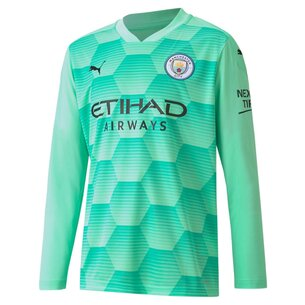 Puma Manchester City Home Goalkeeper Shirt Kids 20/21