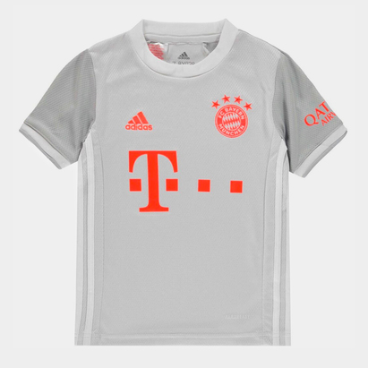 adidas Bayern Munich Away Shirt 20/21 Kids