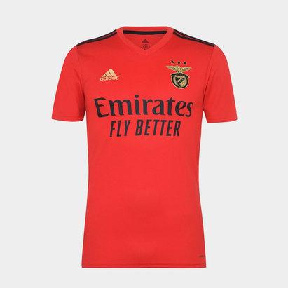 adidas Benfica Home Shirt 20/21 Mens