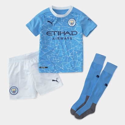 Puma Manchester City Home Mini Kit 20/21