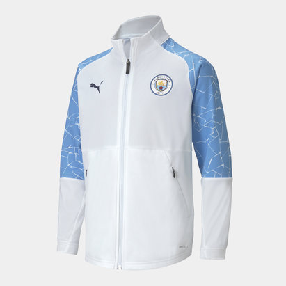 Puma Manchester City Stadium Jacket 20/21 Junior