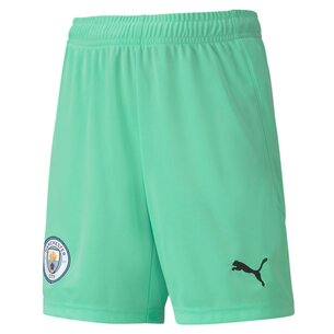 Puma Manchester City Home Goalkeeper Shorts 20/21 Kids