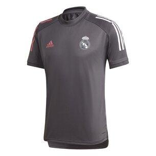 adidas Real Madrid Training Shirt 20/21 Mens