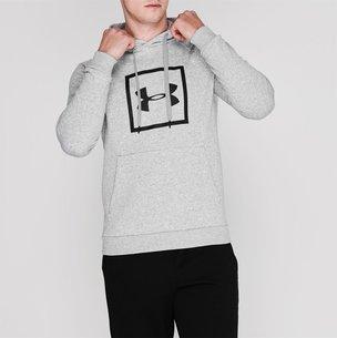 Under Armour Box Logo, Sweatshirt à capuche pour homme
