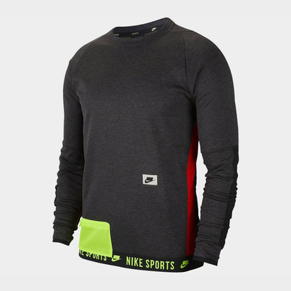 Nike Therma Crew Sweatshirt noir pour homme