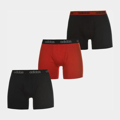 adidas Boxer Performance Rouges pour Hommes, Lot de 3
