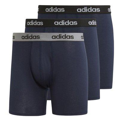 adidas Boxer Performance bleus pour Hommes, Lot de 3
