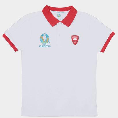 UEFA Euro 2020 Poland Polo Shirt Junior Boys