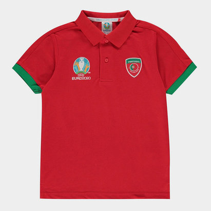 UEFA Euro 2020 Portugal Polo Shirt Junior Boys