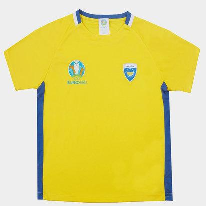 UEFA Euro 2020 Ukraine Poly Top Juniors
