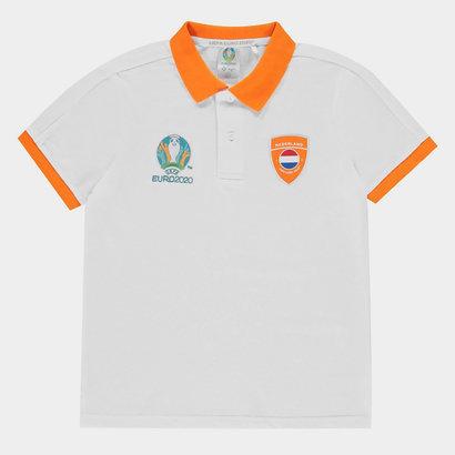 UEFA Euro 2020 Holland Polo Shirt Junior Boys
