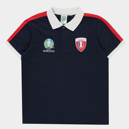 UEFA Euro 2020 France Polo Shirt Junior Boys