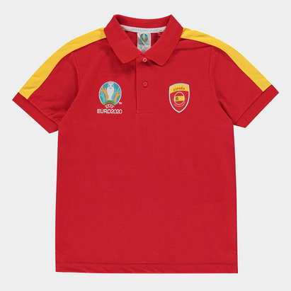 UEFA Euro 2020 Spain Polo Shirt Junior Boys