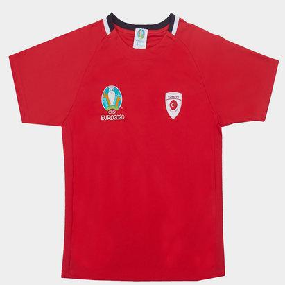 UEFA Euro 2020 Turkey Poly Tee Juniors