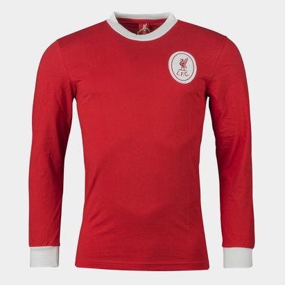 Team Liverpool 1964 - Maillot de Foot Rétro Domicile M/L