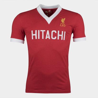 LFC Liverpool 1978 - Maillot de Foot Rétro Domicile Hitachi