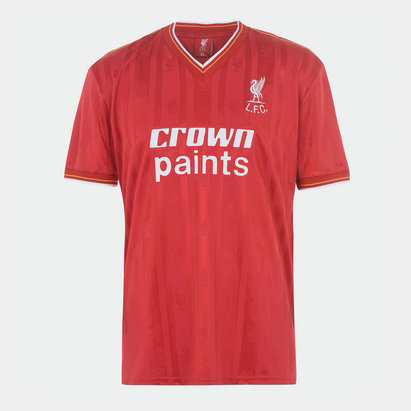 Team Maillot de Football Retro, Liverpool Domicile 1986