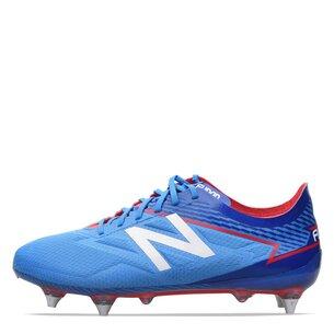 New Balance Furon 3.0 Pro SG, Crampons bleus de Football