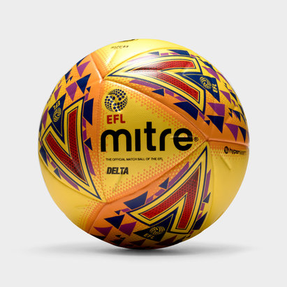 Mitre Delta Hyperseam 14 Panneaux EFL - Ballon de Match Officiel