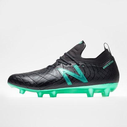 New Balance Tekela V1 Pro FG, Crampons noir de Football en cuir