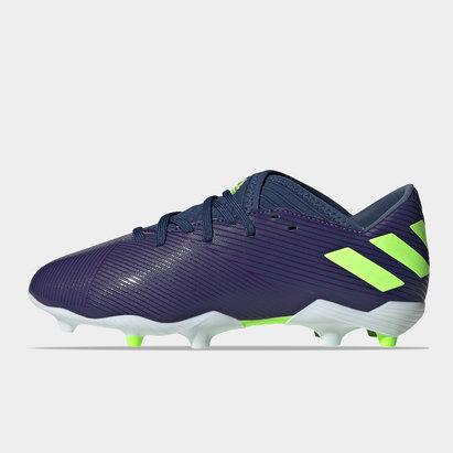 adidas Nemeziz Messi 19.3 FG, Crampons de Football pour enfants