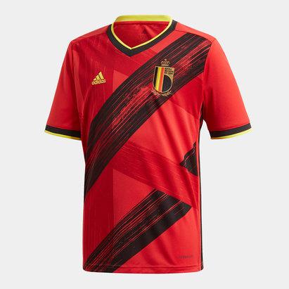adidas Maillot de Football pour ado, Belgique domicile 2020