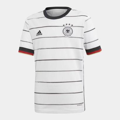 adidas Maillot de Football Authentique pour enfants, Allemagne domicile 2020