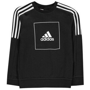 adidas Boys Athletics Club Pullover Sweatshirt