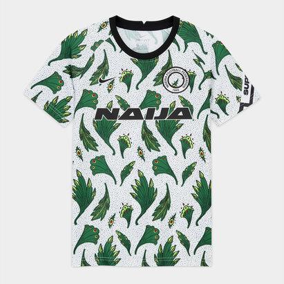 Nike Nigeria Pre Match Shirt 2020 Junior