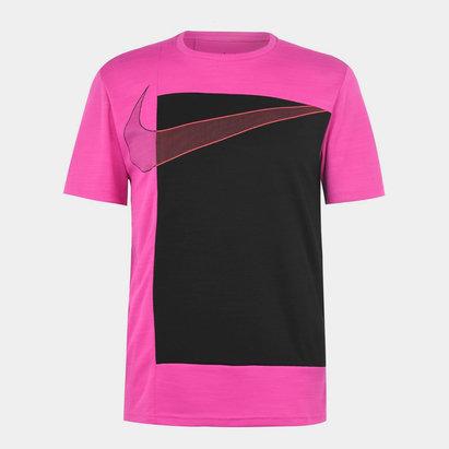 Nike Project X Super, T-shirt rose pour homme