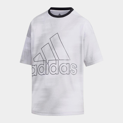 adidas Badge of Sport T Shirt Junior Boys