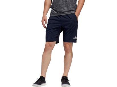 adidas 4Kraft, Shorts bleu foncé pour hommes