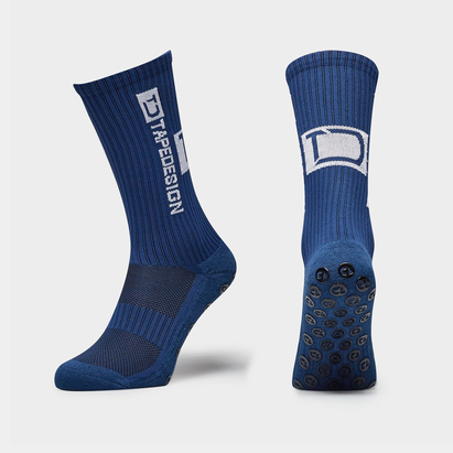 TapeDesign Allround, Chaussettes bleues Marin antidérapantes de Sports