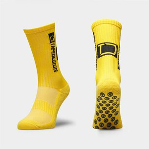 TapeDesign Allround, Chaussettes jaunes antidérapantes de Sports
