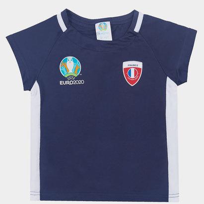 UEFA Euro 2020 France Poly Tee Infants