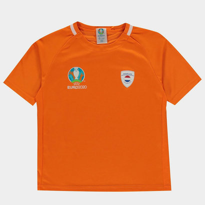 UEFA Euro 2020 Holland Poly Tee Juniors