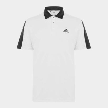 adidas Bold Brand Golf Polo Shirt Mens