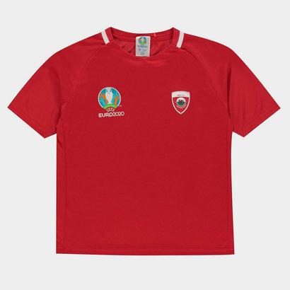 UEFA Euro 2020 Wales T Shirt Junior