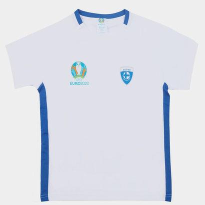 UEFA Euro 2020 Finland Polyester T Shirt Junior