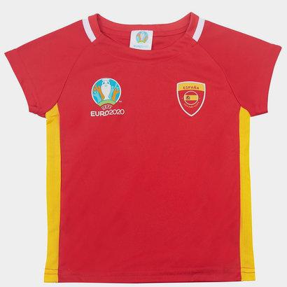 UEFA Euro 2020 Spain Core T Shirt Infant Boys