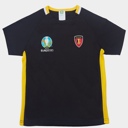 UEFA Euro 2020 Belgium Core T Shirt Junior Boys