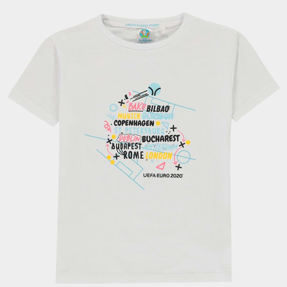 UEFA Euro 2020 Logo T Shirt Junior