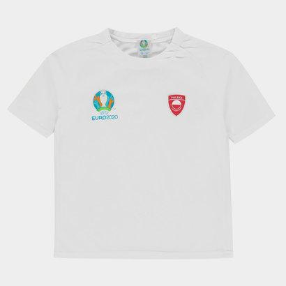 UEFA Euro 2020 Poland Poly Tee Juniors