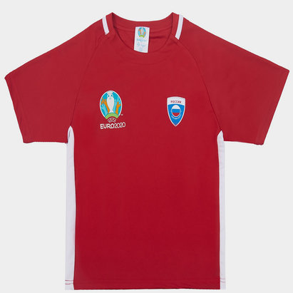 UEFA Euro 2020 Russia Poly Top Juniors