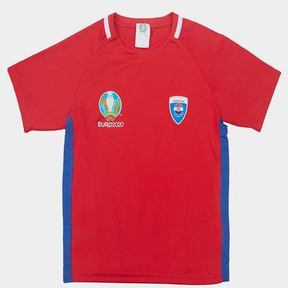 UEFA Euro 2020 Croatia Polyester T Shirt Junior